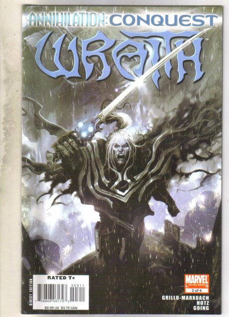Annihilation: Conquest Wrath #1 comic book near mint 9.4
