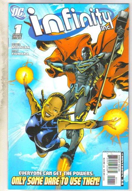 Infinity Inc. #1 comic book mint 9.8