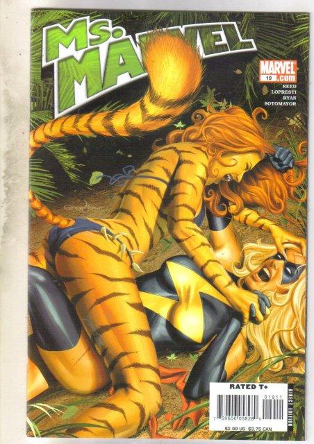 Ms. Marvel #19 comic book near mint 9.4
