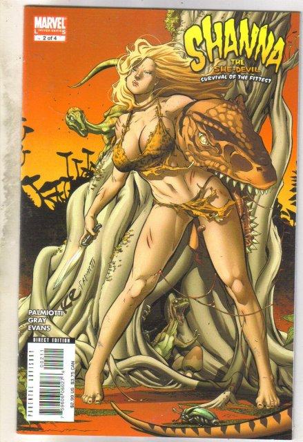Shanna The She-devil #2 comic book near mint 9.4