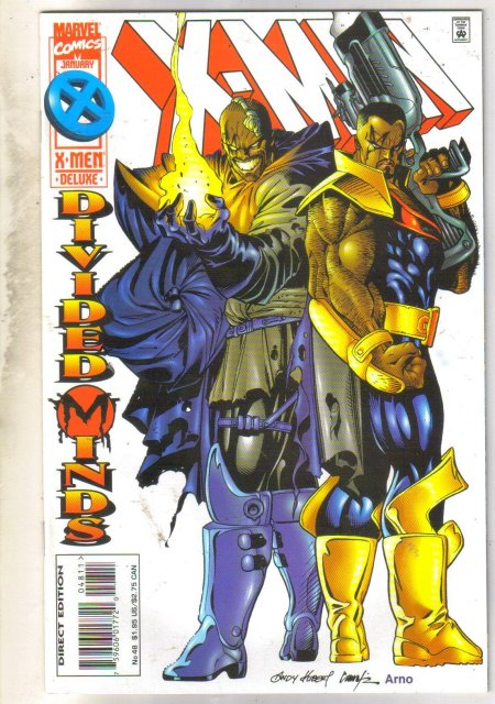 X-Men #48 comic book near mint 9.4