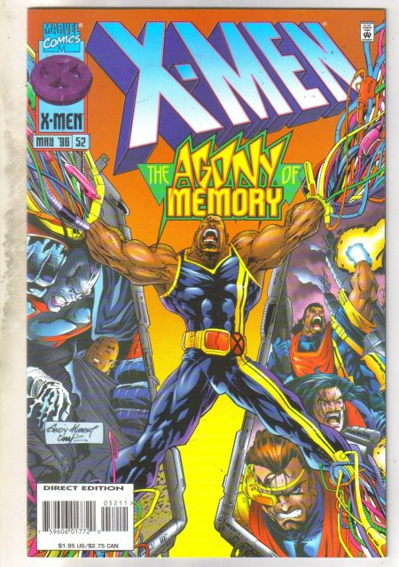 X-Men #52 comic book near mint 9.4