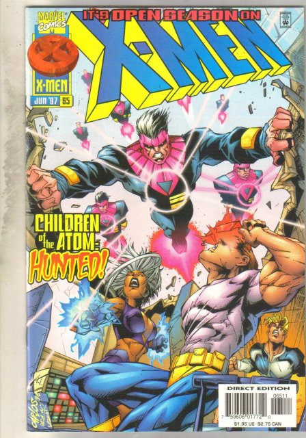 X-Men #65 comic book mint 9.8