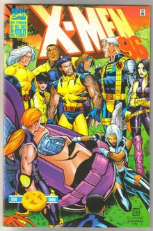 X-Men Annual '96 comic book mint 9.8