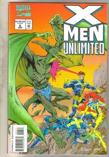 X-Men Unlimited #6 comic book mint 9.8