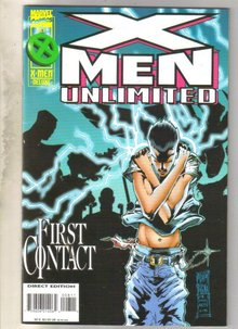 X-Men Unlimited #8 comic book very fine 8.0