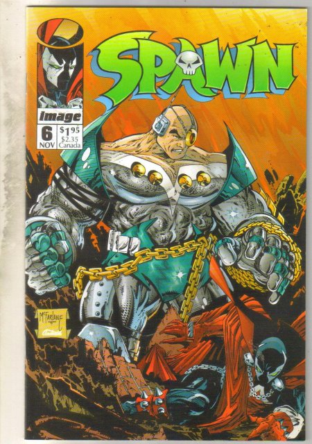 Spawn #6 comic book near mint 9.4