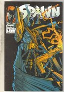 Spawn #7 comic book fine 6.0