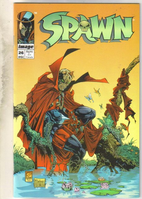 Spawn #26 comic book near mint 9.4