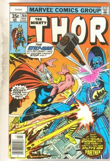 Mighty Thor #269 comic book very fine 8.0