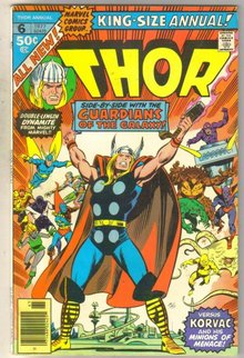 Mighty Thor Annual #6 comic book very fine 8.0