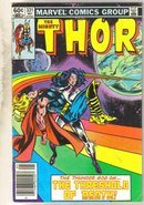 Mighty Thor #331 comic book fine 6.0