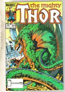 Mighty Thor #341 comic book near mint 9.4