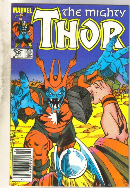 Mighty Thor #348 comic book very fine 8.0