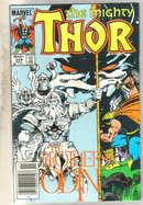 Mighty Thor #349 comic book near mint 9.4
