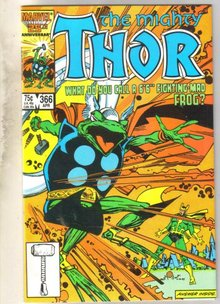 Mighty Thor #366 comic book mint 9.8
