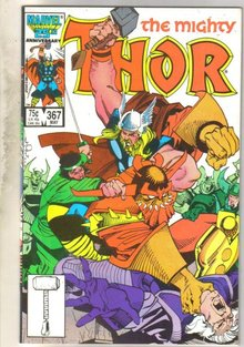 Mighty Thor #367 comic book mint 9.8