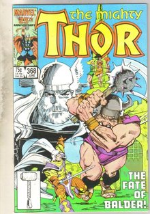 Mighty Thor #368 comic book mint 9.8