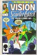 Vision and the Scarlet Witch #4 comic book near mint 9.4