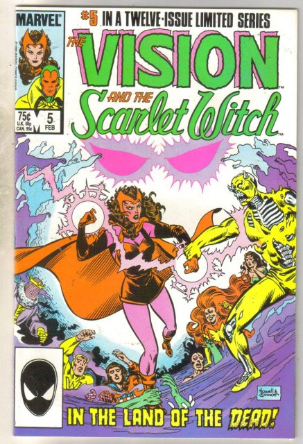 Vision and the Scarlet Witch #5 comic book mint 9.8