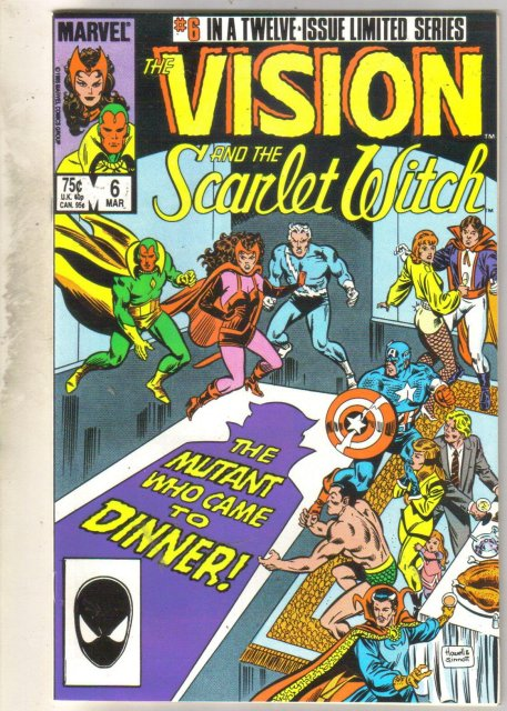 Vision and the Scarlet Witch #6 comic book near mint 9.4