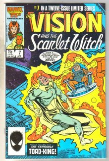 Vision and the Scarlet Witch #7 comic book near mint 9.4