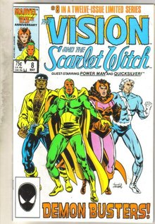 Vision and the Scarlet Witch #8 comic book mint 9.8