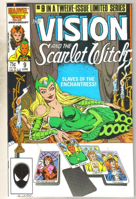 Vision and the Scarlet Witch #9 comic book mint 9.8