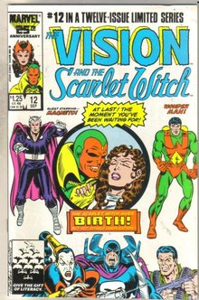 Vision and the Scarlet Witch #12 comic book mint 9.8
