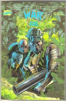 War Book Three comic book near mint 9.4