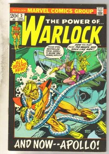 The Power of...Warlock #3  comic book very fine/near mint 9.0