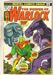 The Power of...Warlock #7  comic book fine 6.0