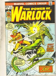 The Power of...Warlock #8  comic book very fine 8.0