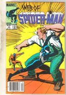 Web of Spider-man #8 comic book fine 6.0
