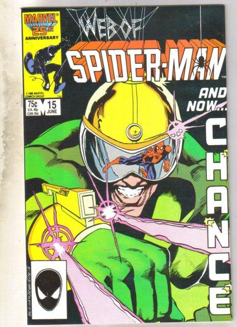 Web of Spider-man #15 comic book fine near mint 9.4