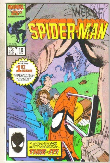 Web of Spider-man #16 comic book fine near mint 9.4