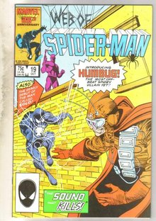 Web of Spider-man #19 comic book fine near mint 9.4
