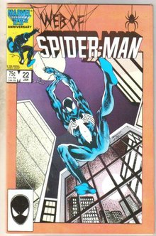 Web of Spider-man #22 comic book near mint 9.4