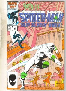 Web of Spider-man #23 comic book near mint 9.4