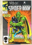 Web of Spider-man #25 comic book near mint 9.4