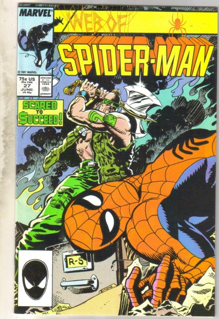 Web of Spider-man #27 comic book near mint 9.4