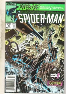 Web of Spider-man #31 comic book near mint 9.4
