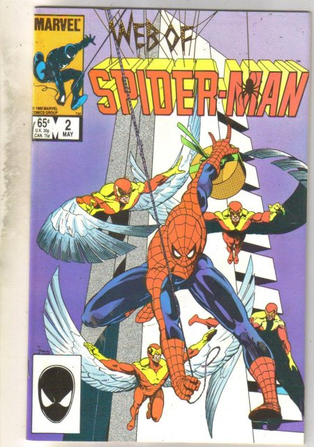 Web of Spider-man #2 comic book near mint 9.4