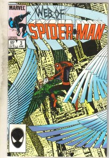 Web of Spider-man #3 comic book near mint 9.4