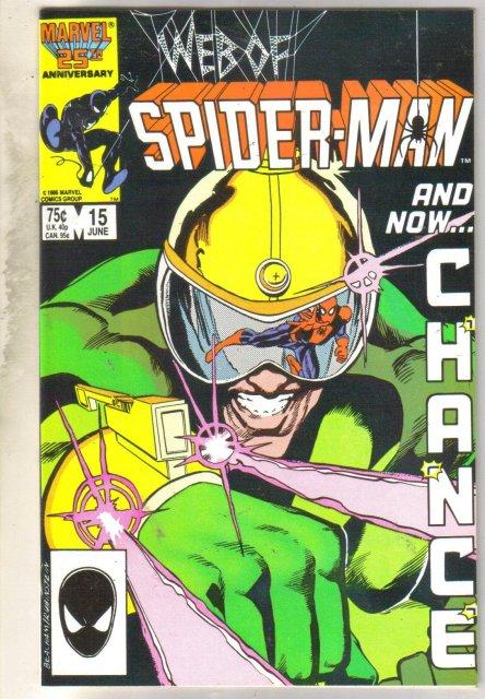 Web of Spider-man #15 comic book near mint 9.4