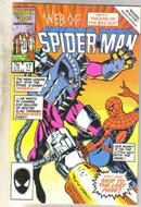 Web of Spider-man #17 comic book near mint 9.4