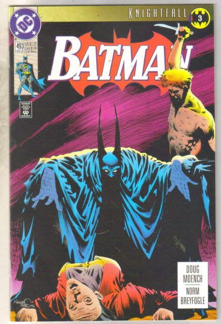 Batman #493 comic book near mint 9.4