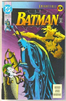 Batman #494 comic book near mint 9.4