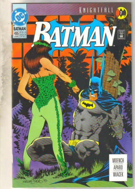 Batman #495 comic book mint 9.8