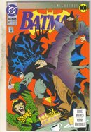 Batman #492 comic book near mint 9.4